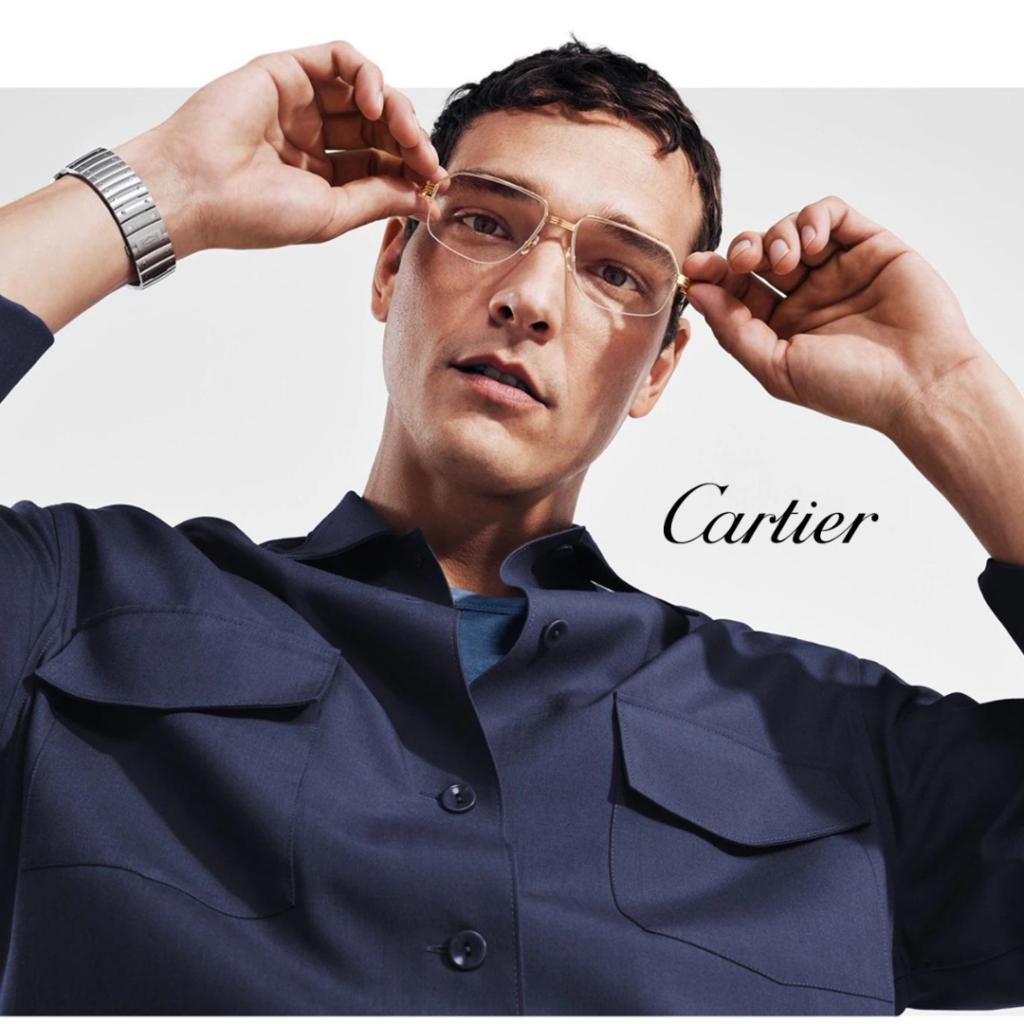 Men's Cartier Eyeglasses in Keller TX - Designer eyeglasses and sunglasses from Adair Eyewear.
